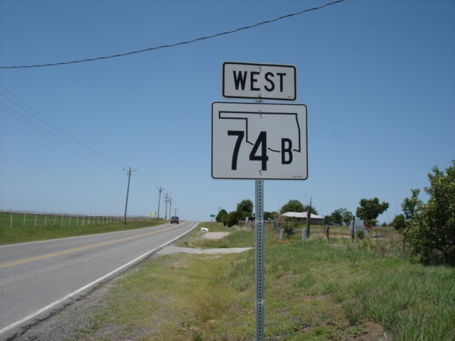 OK 74B West assurance shield